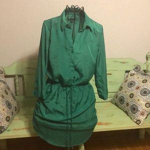 Gap green dress.